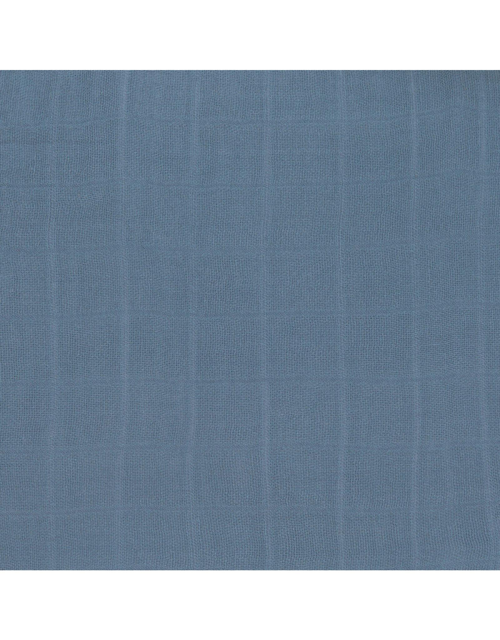 Lassig Lassig Soflt Swaddle L (80x80) Glama Lama Blue