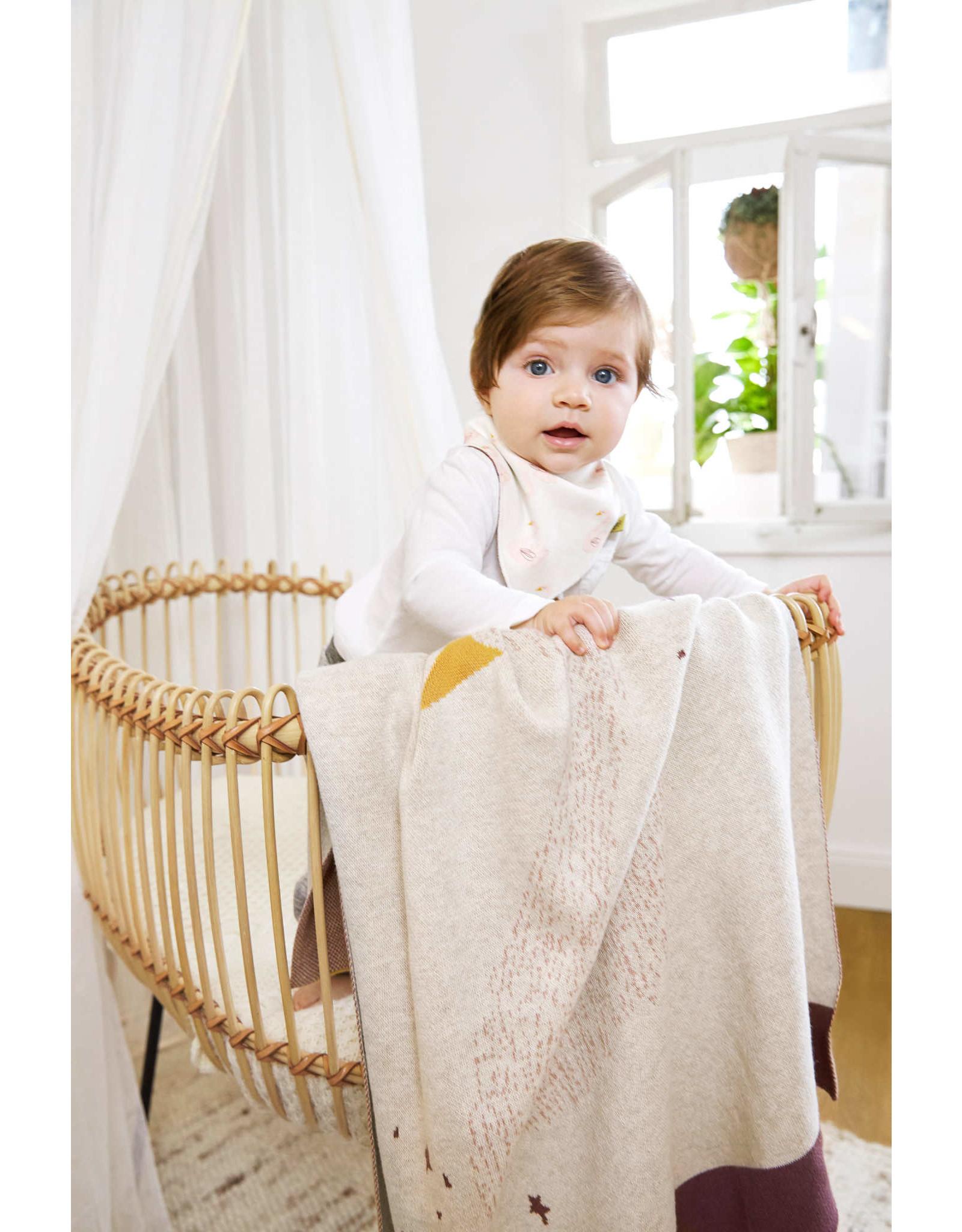 Lassig Lassig Knitted Blanket 75x100 Little Water Swan