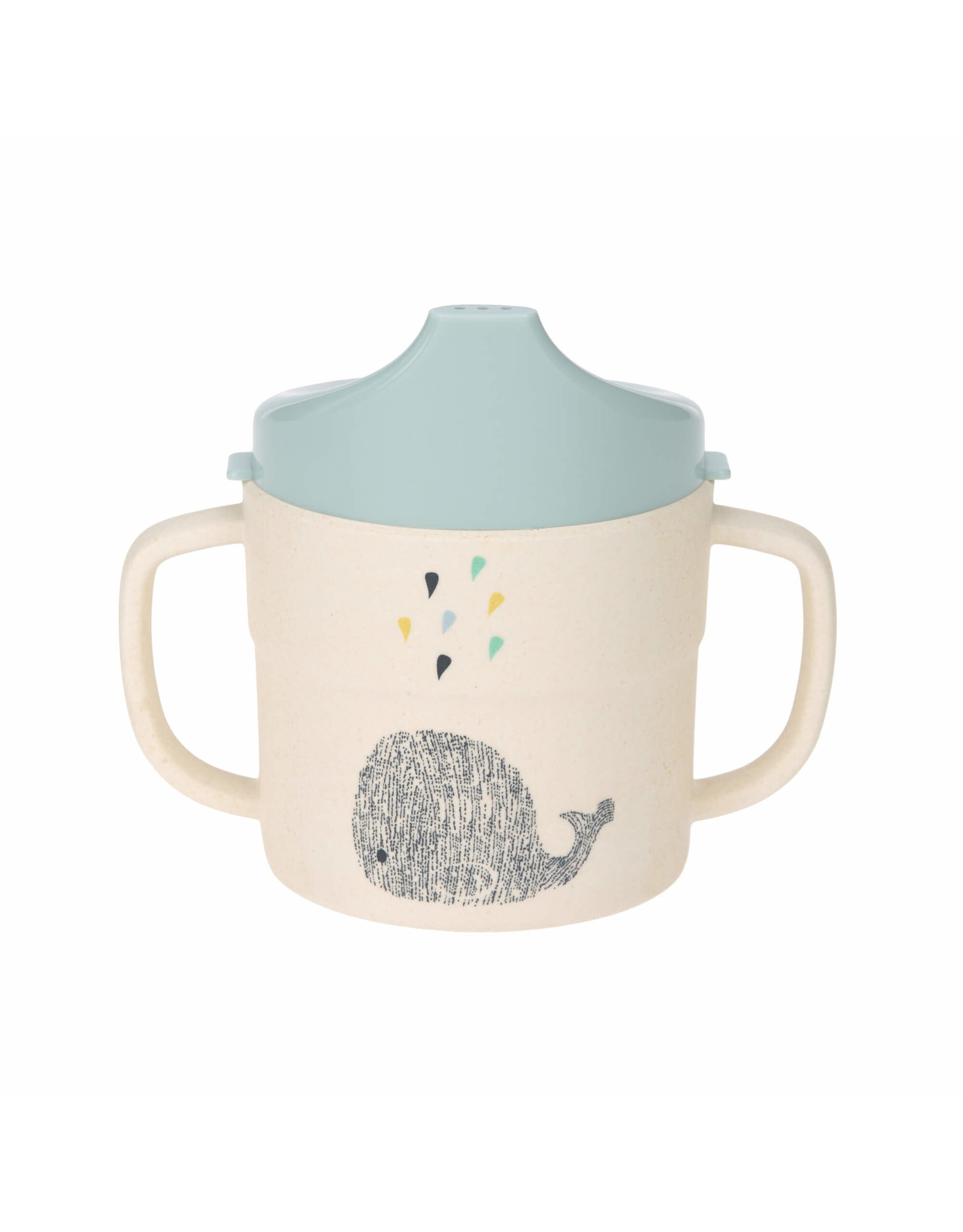 Lassig Lassig Sippy Cup Little Water Whale