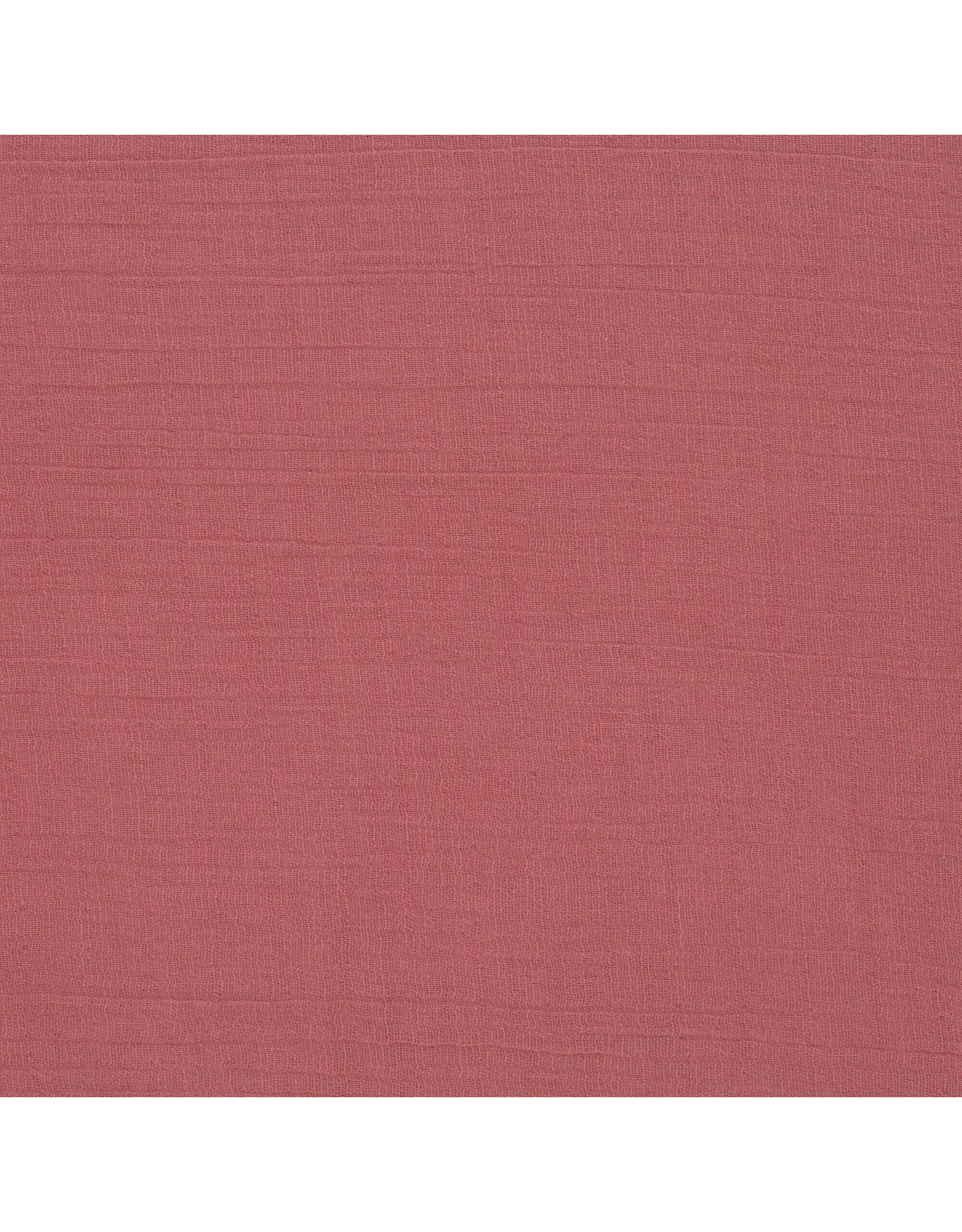 Lassig Lassig Seat Cushion Muslin ø 100 cm Red