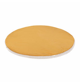 Lassig Lassig Seat Cushion Muslin ø 100 cm Mustard