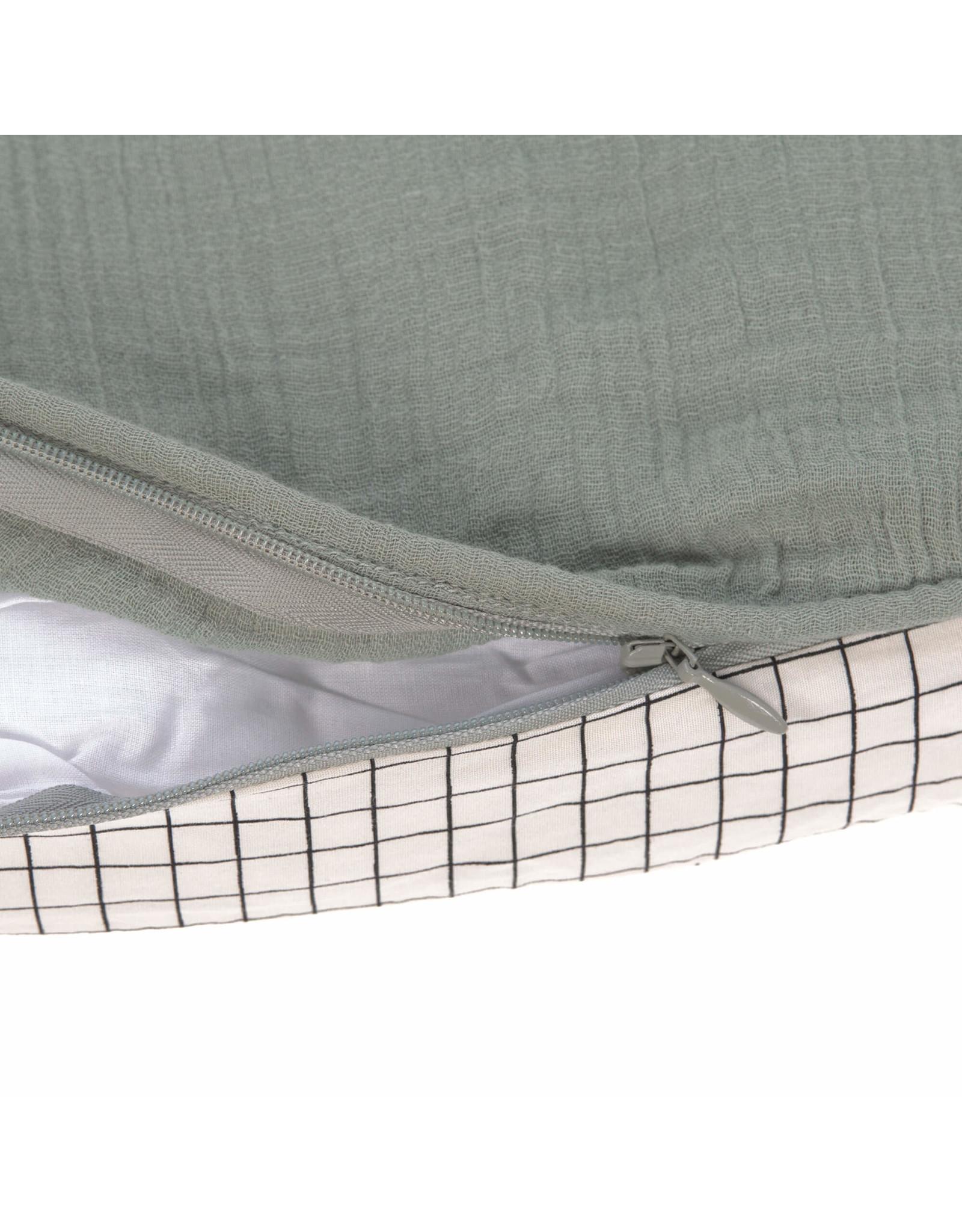Lassig Lassig Seat Cushion Muslin ø 100 cm Green