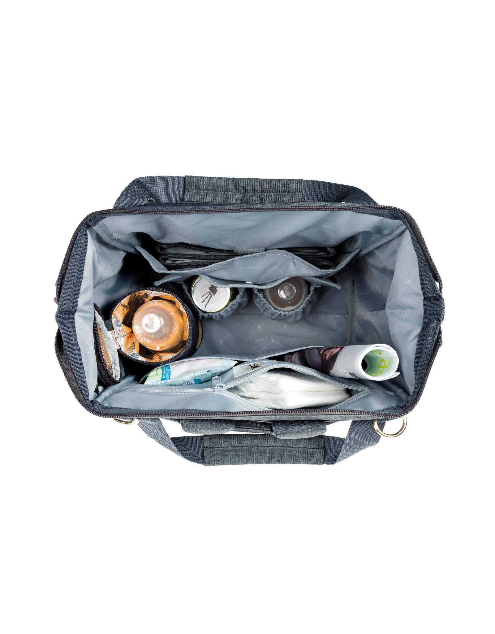 Lassig Lassig Glam Goldie Backpack Anthracite