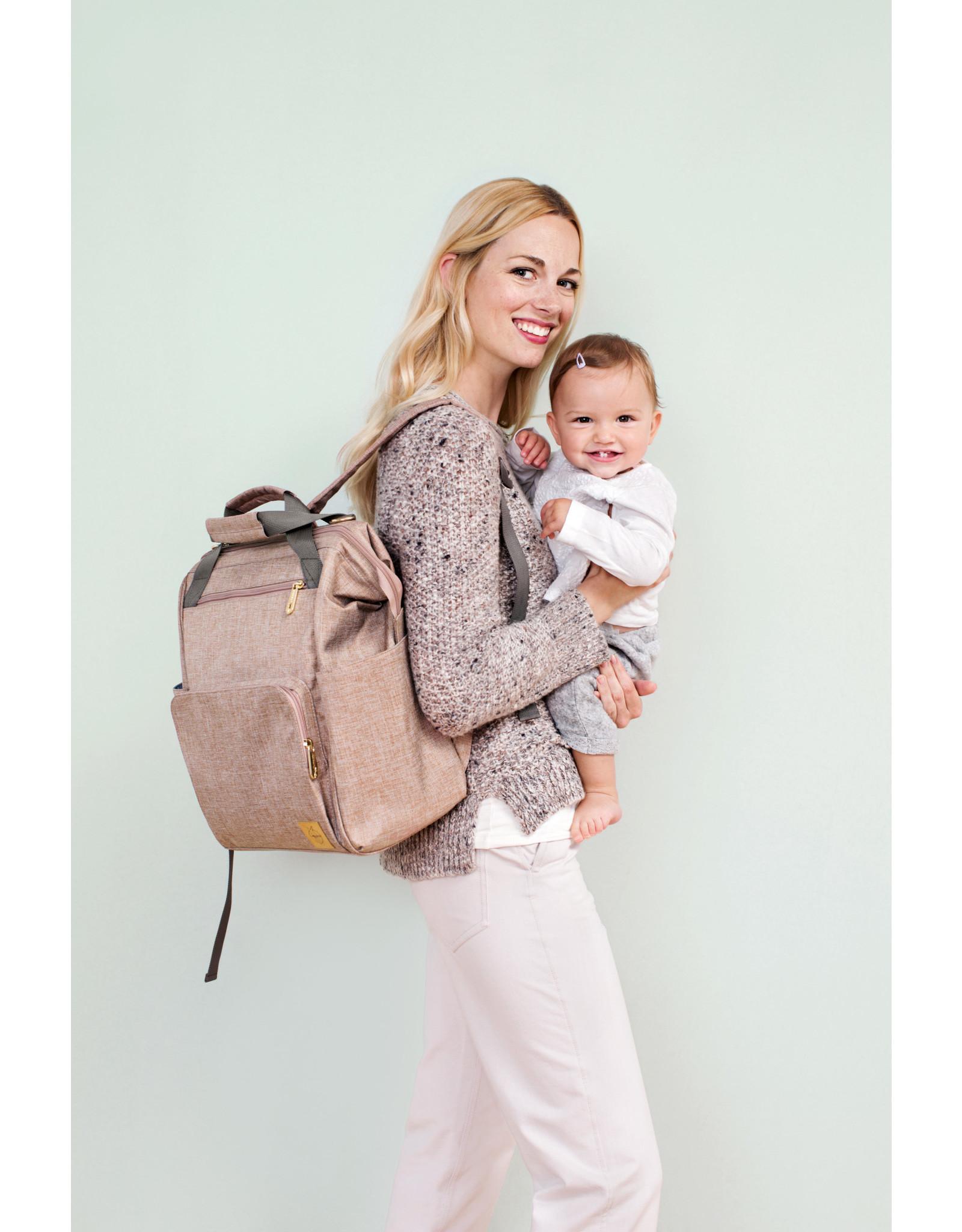 Lassig Lassig Glam Goldie Backpack Rose