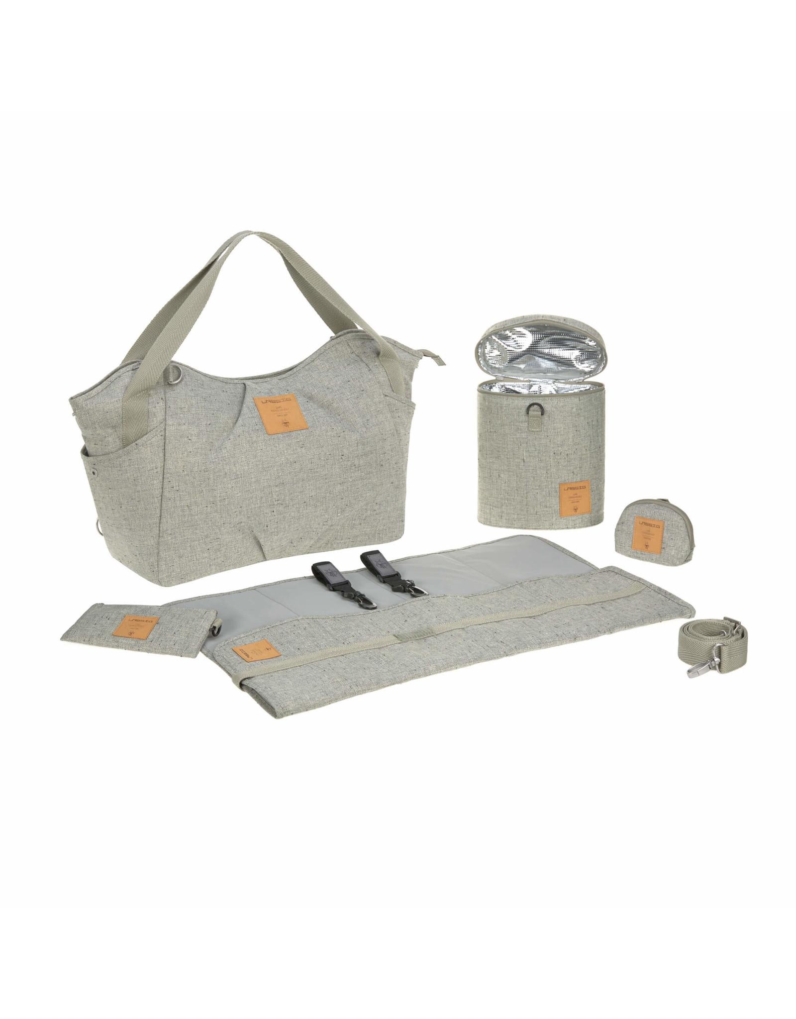 Lassig Lassig Greenlabel Twin Bag Bouclé beige