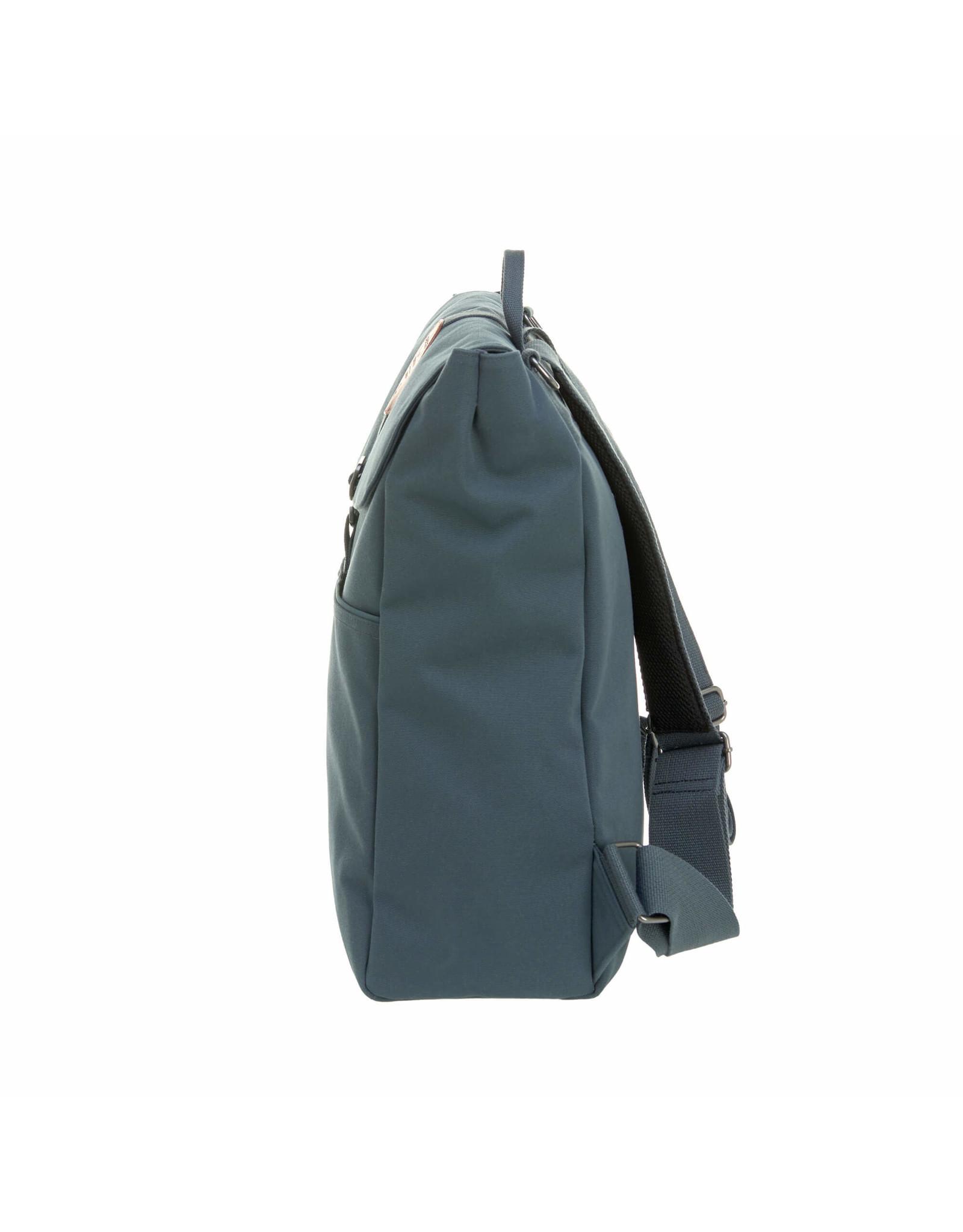 Lassig Lassig Greenlabel Adventure Backpack Diaper Bag, Petrol