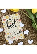 Bloom Bloom Card Flowers Confetti Best In The World