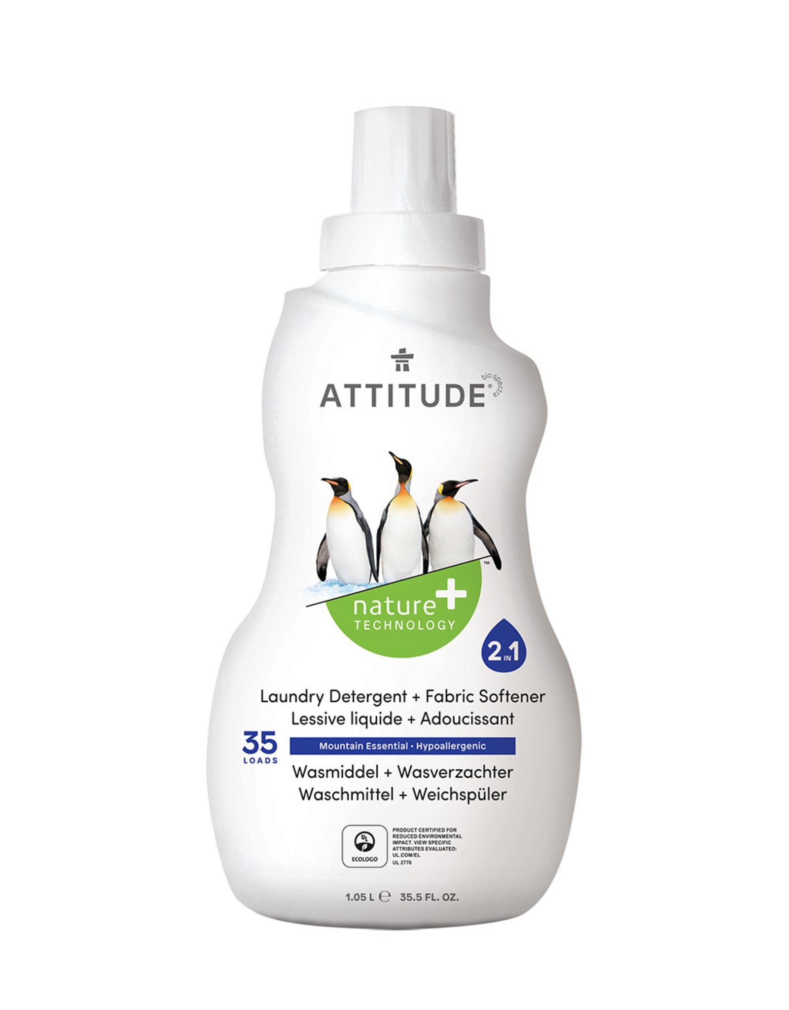 Attitude Attitude Vloeibaar Wasmiddel | Citrus Zest