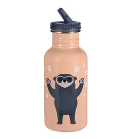 Blafre Blafre Steel Bottle Brillebjorn 500ml Light Peach