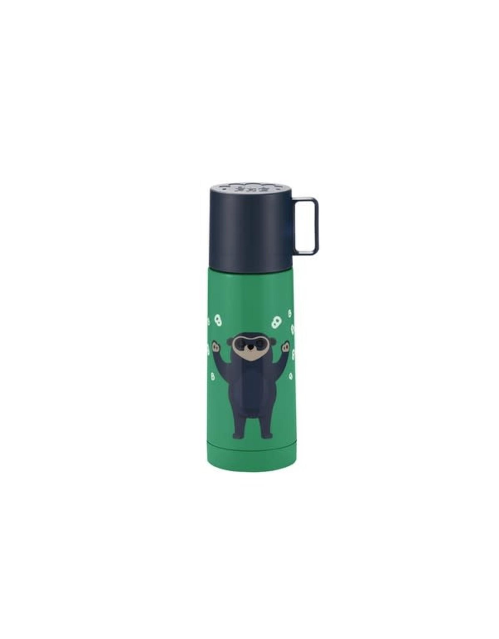 Blafre Blafre Thermal Bottle Bo Bear stainless steel, 350ml Green