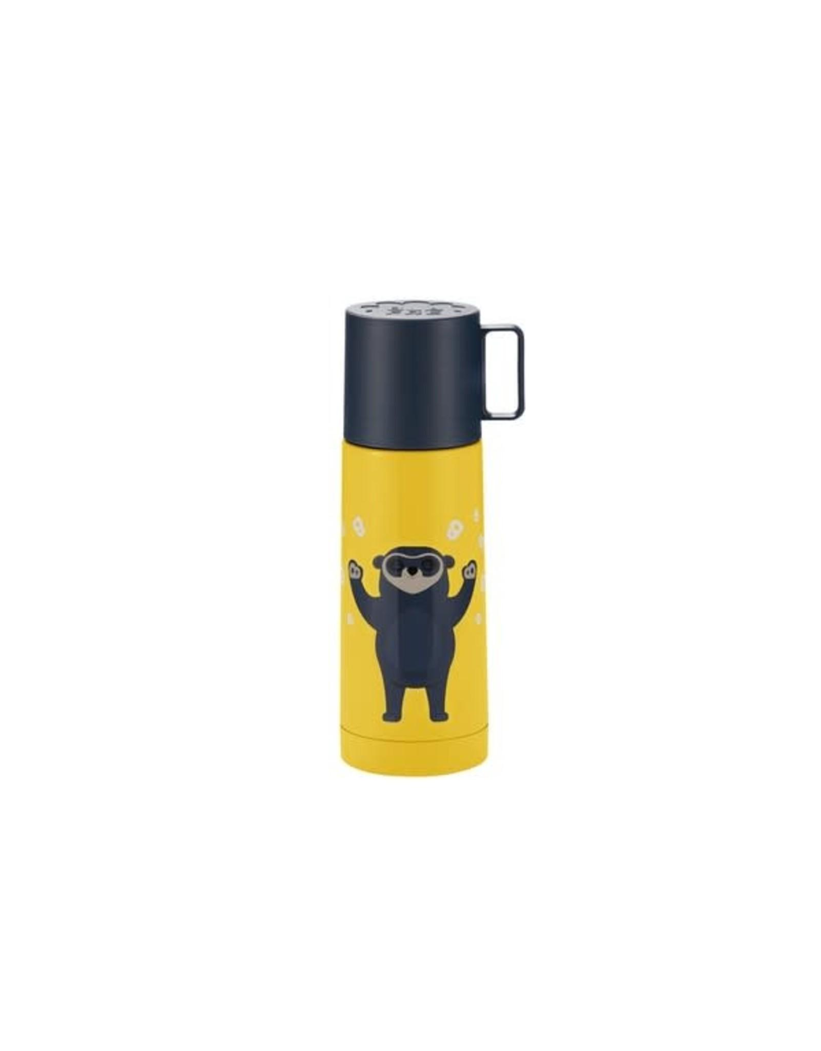 Blafre Blafre Thermal Bottle Bo Bear stainless steel, 350ml Yellow
