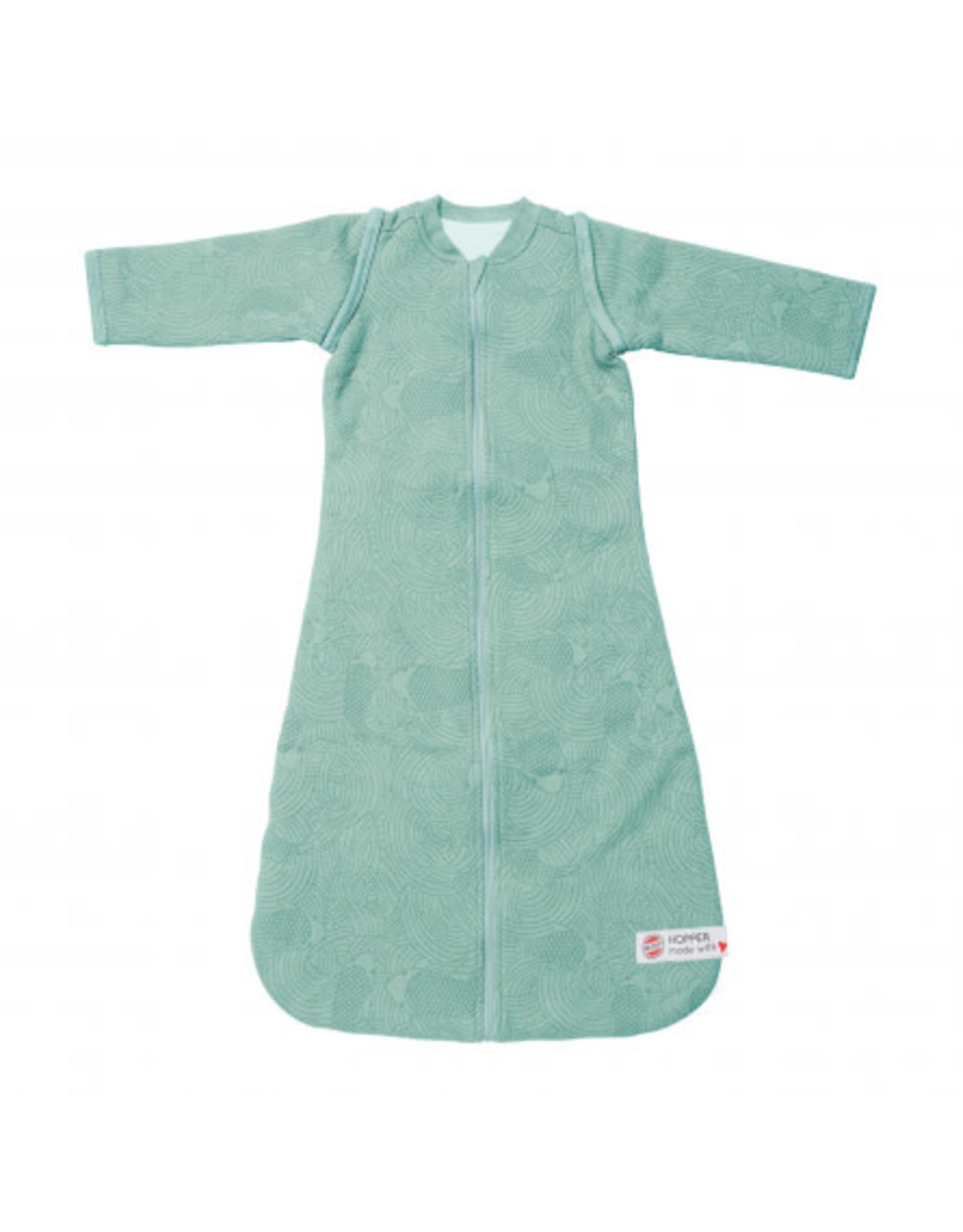 Lodger Lodger Winterslaapzak Baby Hopper Sleeves Empire 68/80 Silt Green
