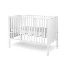 Childhome Childhome Bed ref. 22 gesloten beuk/wit 60x120 + wielen
