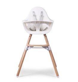 Childhome Childhome Evolu 2 Kinderstoel - Verstelbaar In Hoogte (50-75 Cm/*90 Cm) - Naturel Wit