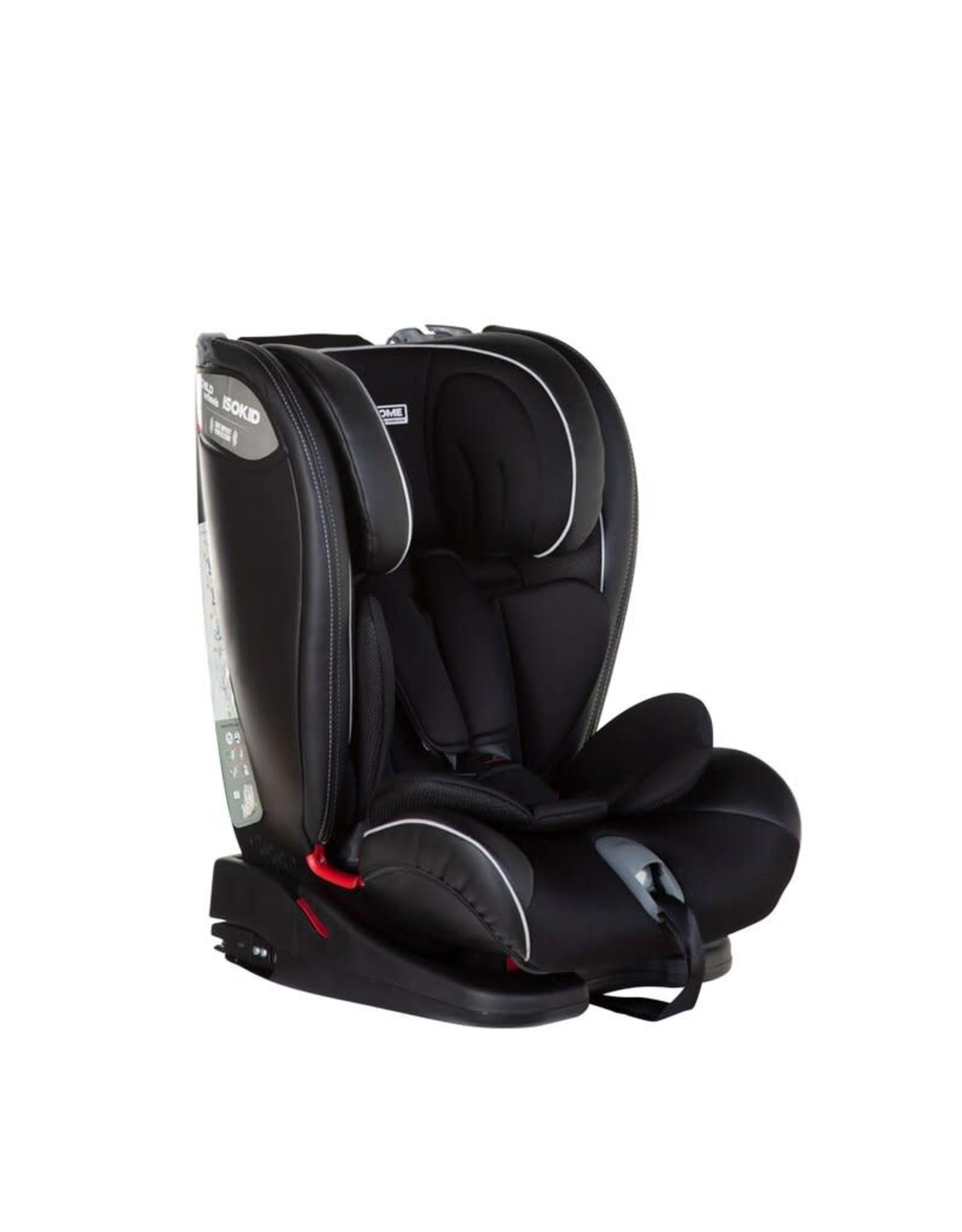 Childhome Childhome Isokid Autostoel - Groep 1+2+3 - Isofix - Zwart