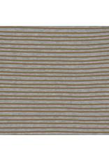 Lassig Lassig Interlock Beanie GOTS Striped Grey Mélange