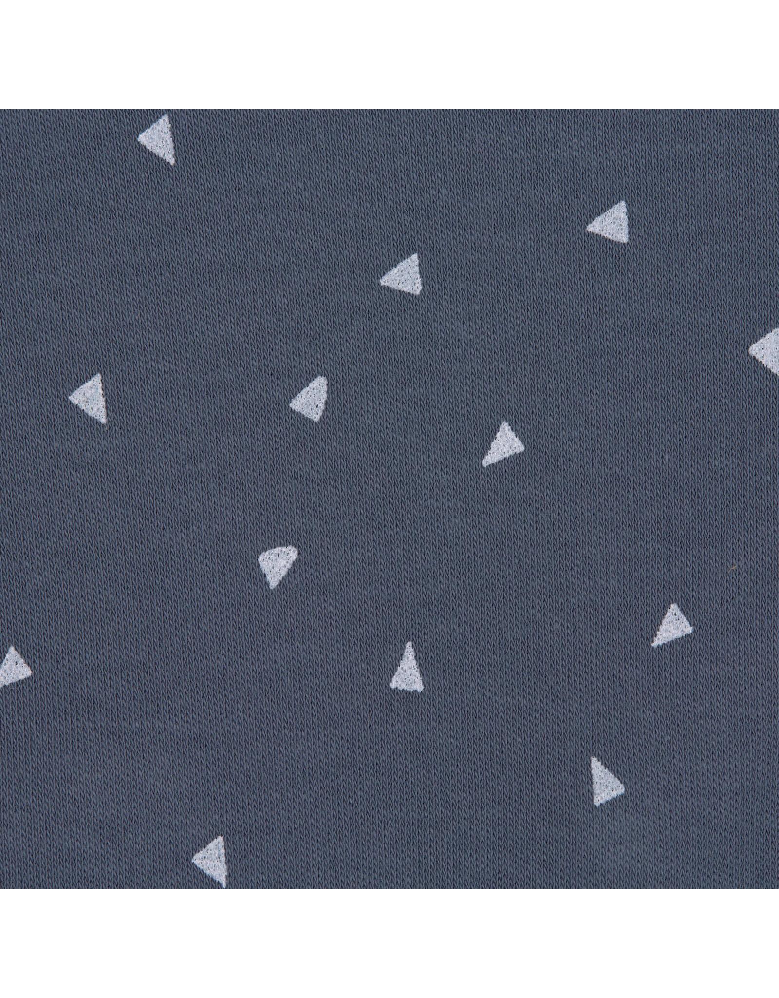 Lassig Lassig Interlock Beanie GOTS Triangle Blue