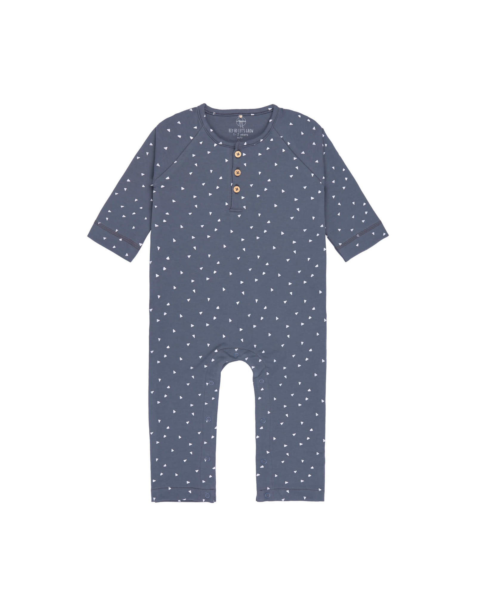 Lassig Lassig Overall GOTS Triangle Blue