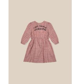 Bobo Choses Bobo Choses Grid Woven Dress