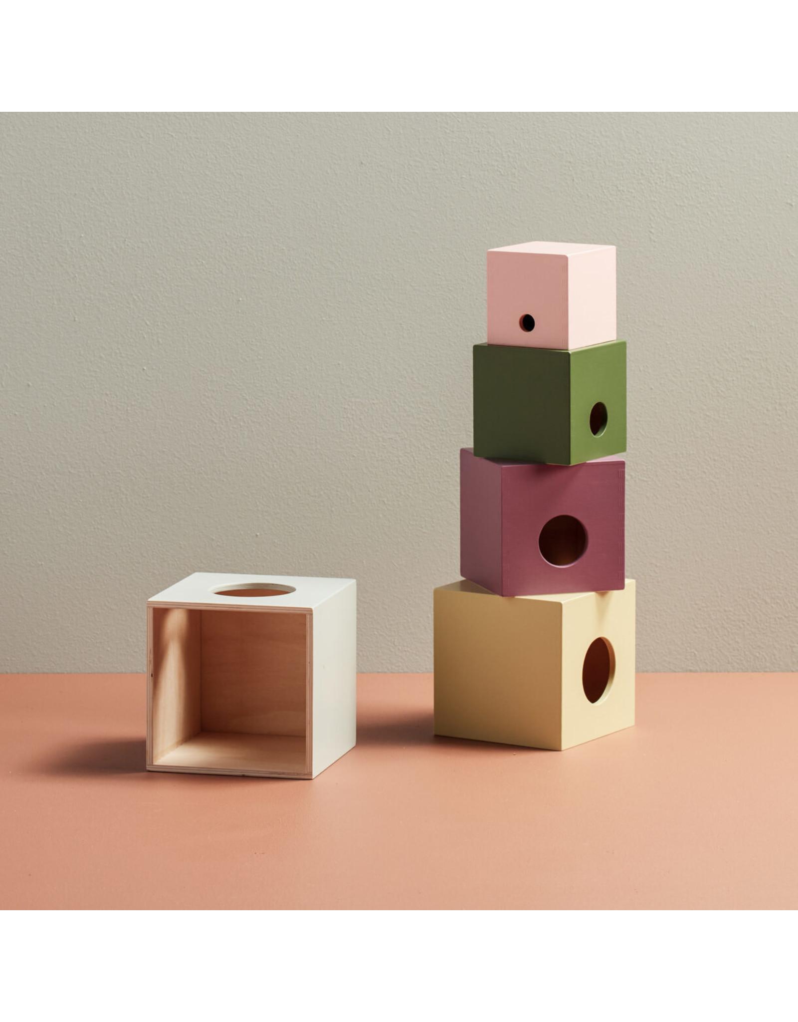 Kid's concept Kid's Concept Bouwblokken hout 5pcs Edvin