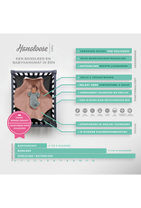 Hangloose Baby Hangloose Baby - babyhangmat / boxkleed - Pinky Feather