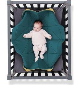 Hangloose Baby Hangloose Baby - babyhangmat / boxkleed - Petrol Oker Geel