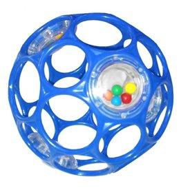 Oball O Ball Rattle Blauw