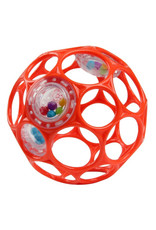 Oball O Ball Rattle Rood