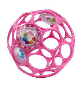 Oball O Ball Rattle Roze