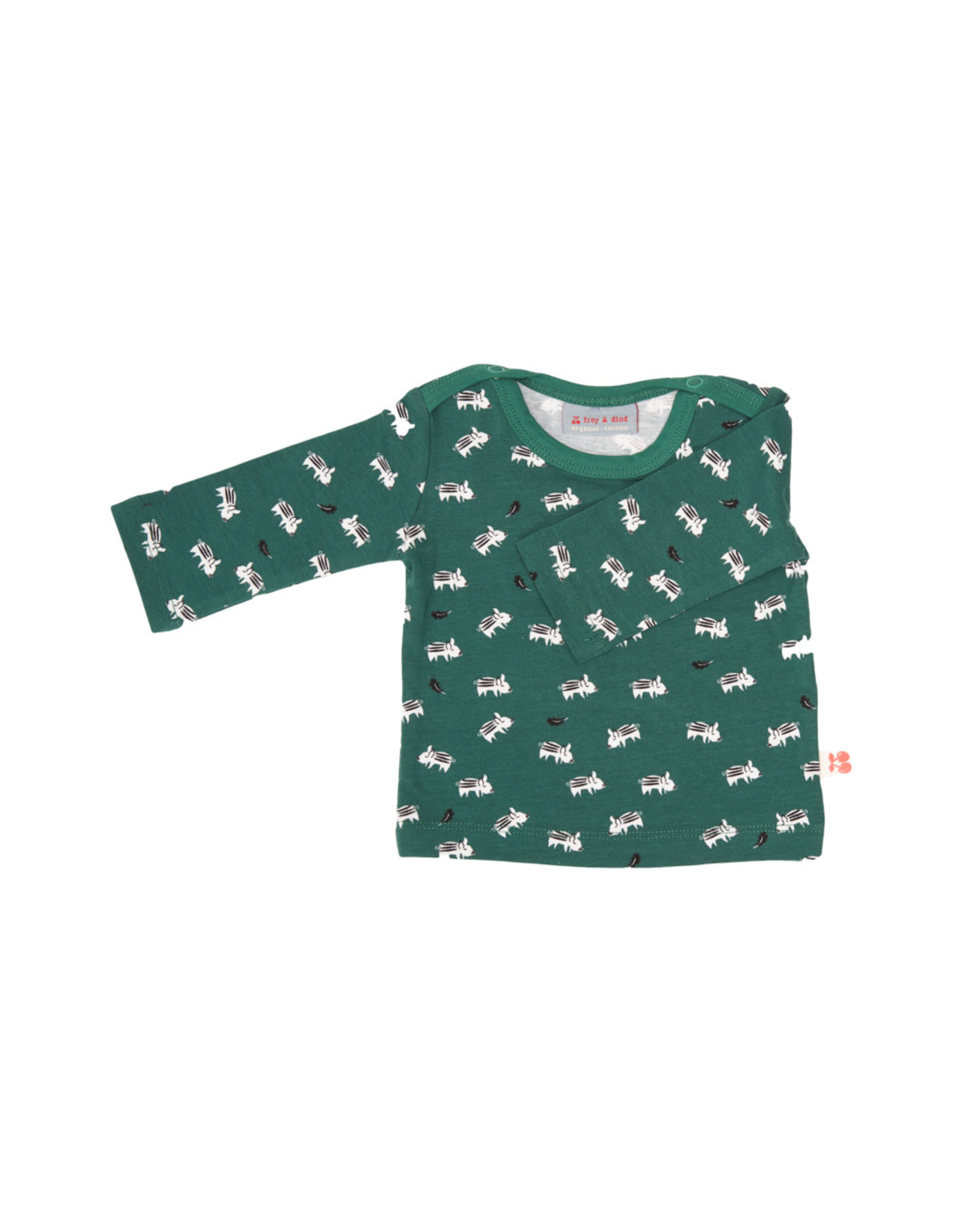 Froy & Dind Froy&Dind Shirt Theo boar jersey cotton