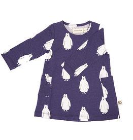 Onnolulu Onnolulu dress Arsene polarbear jersey cotton