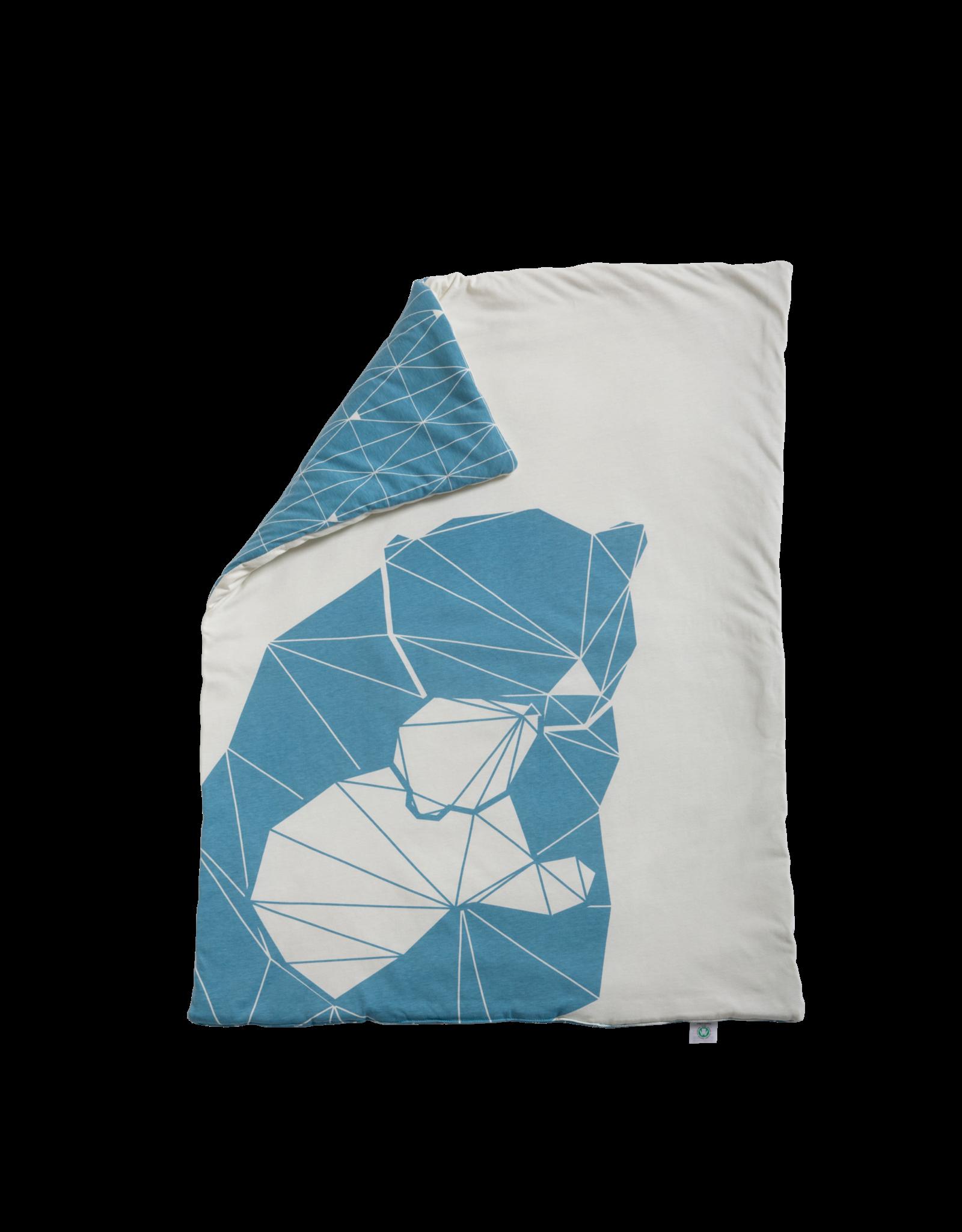 Hymy Hymy Esben Mama & Baby Bear Padded Blanket 70x90