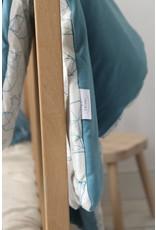 Hymy Hymy Esben Baby Bear/ Bleu Padded Blanket 70x90