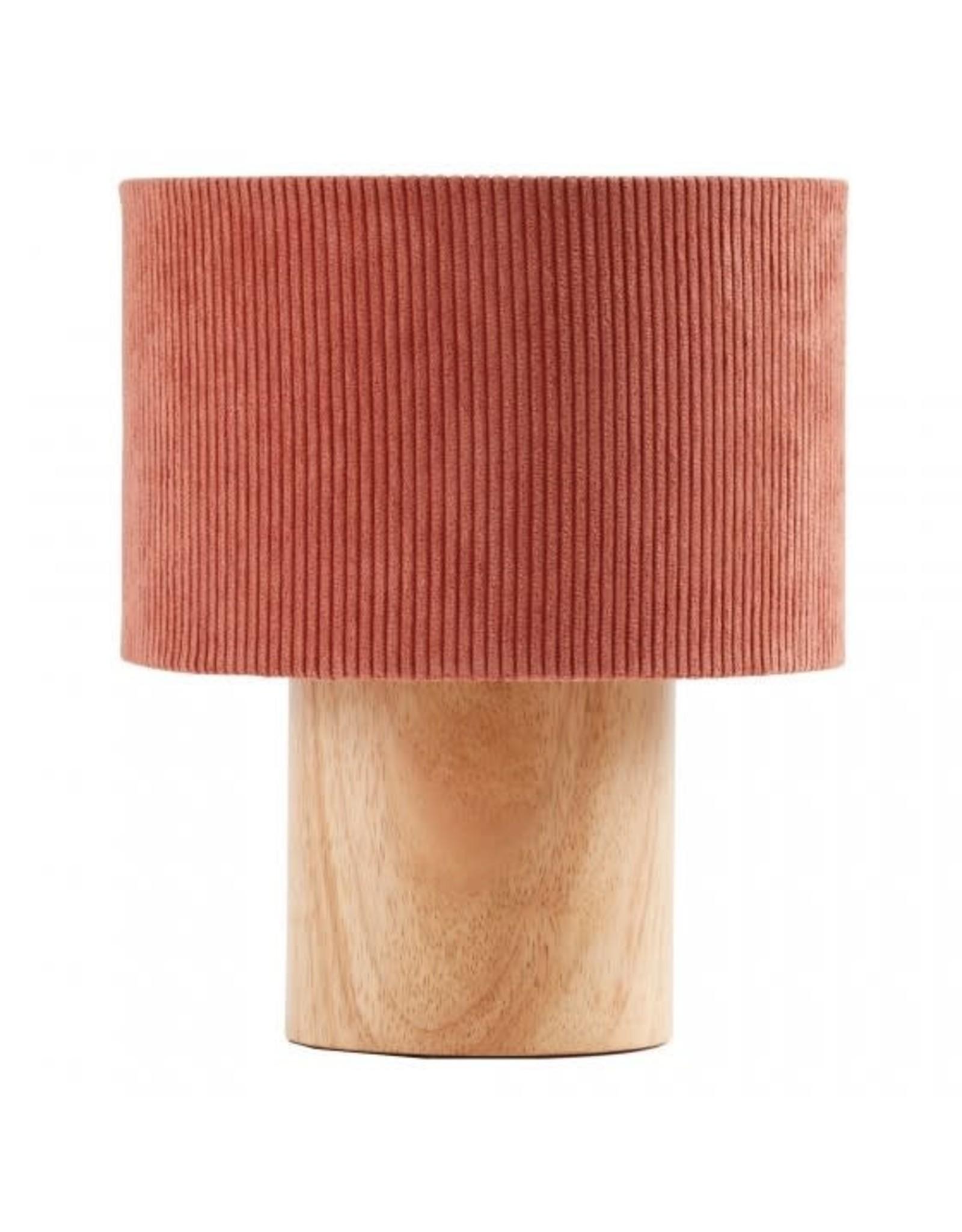 Kid's concept Kid's Concept Tafellamp Corduroy Roodroest