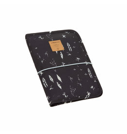 Lassig Lassig Casual Changing Pouch Feathers Black