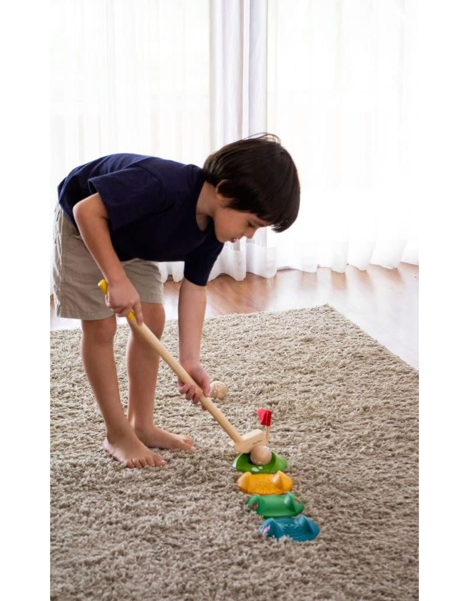 PlanToys Plan Toys Mini Golf dubble set