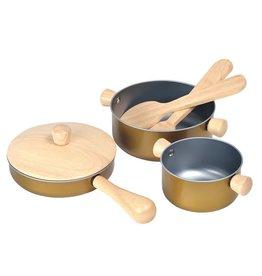 PlanToys Plan Toys Cooking Utensils
