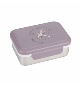 Lassig Lassig Lunchbox Stainless Steel Dragonfly