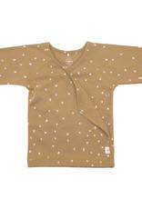 Lassig Lassig Kimono Shirt GOTS Dots Curry