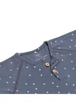 Lassig Lassig Long Sleeve Shirt GOTS Triangle Blue 74/80, 7-12m