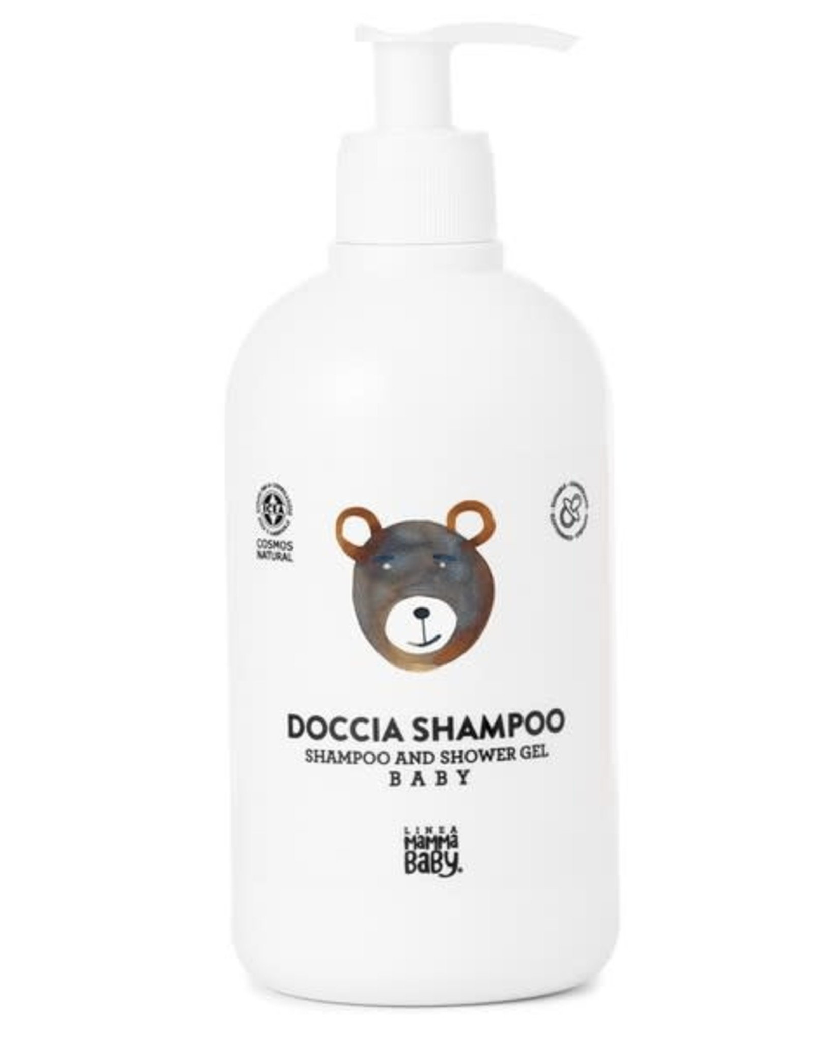Linea MammaBaby Linea MammaBaby Babyshampoo & Douchegel Cosmos Natural (500 ml)
