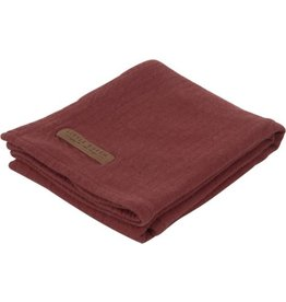 Little Dutch Little Dutch Swaddle 120x120 Pure Indian Red