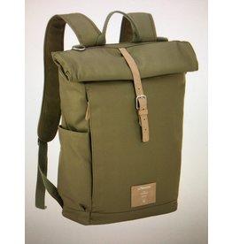Lassig Lassig Greenlabel Rolltop Backpack Olive