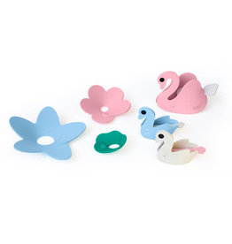 Quut Quutopia 3D Puzzle Swan Lake