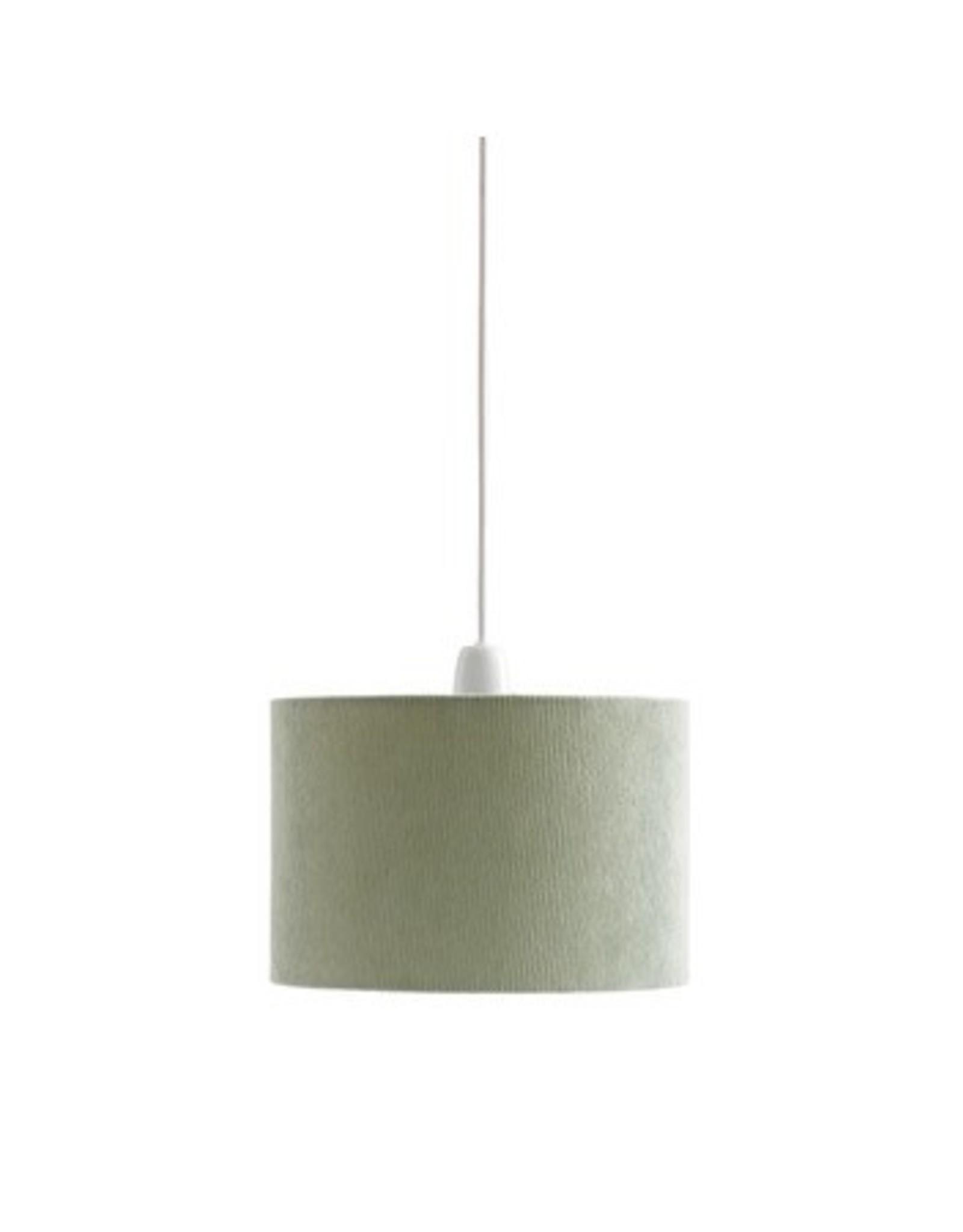 Kid's concept Kid's Concept Hanglamp Corduroy Lichtgroen