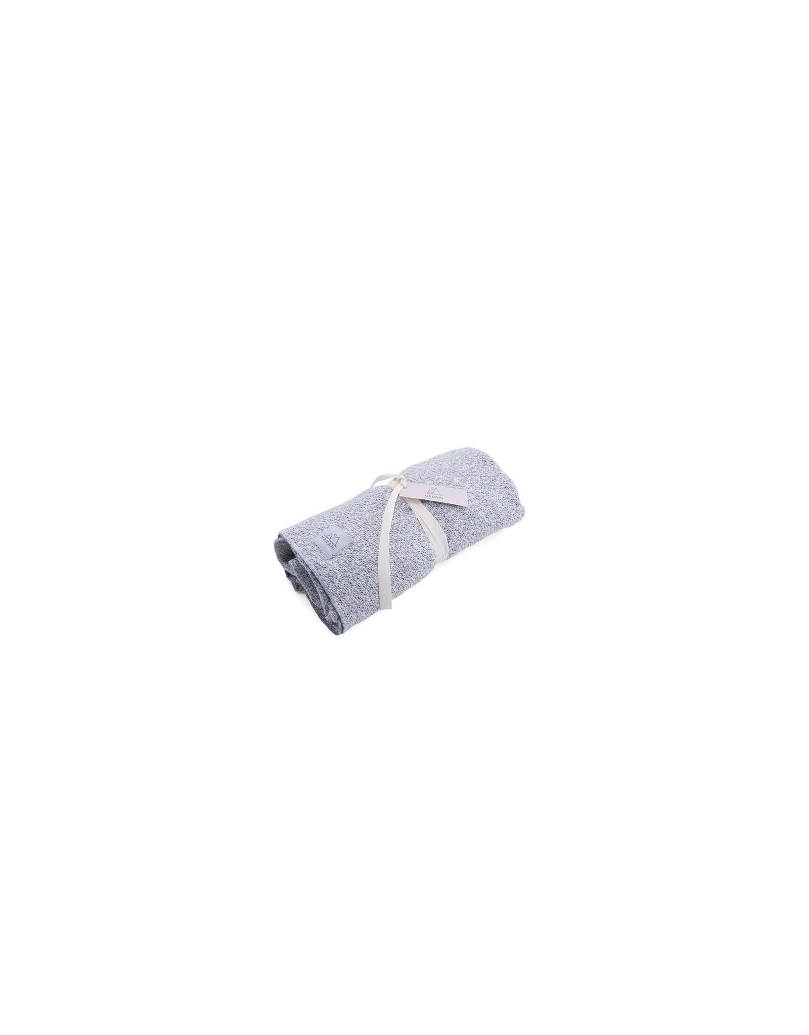 Nanami Nanami Blanket Soft Knit Look Grey