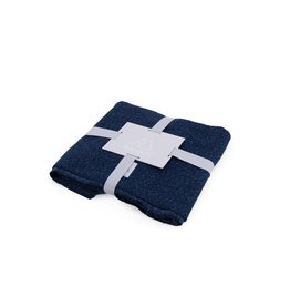 Nanami Nanami Blanket Soft Knit Look Navy
