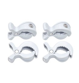 Lodger Lodger Swaddle Clips 2 - pack White