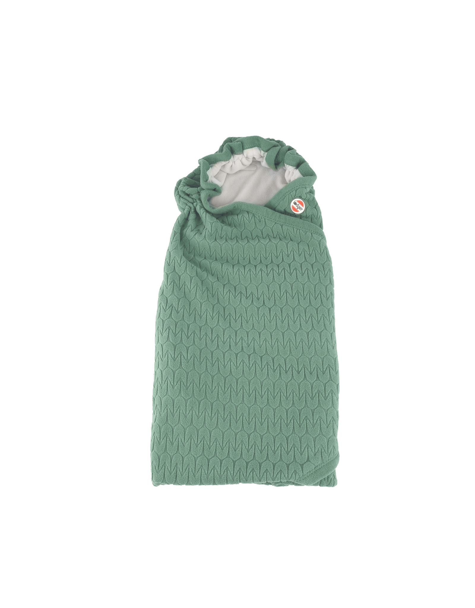 Lodger Lodger Wikkeldeken Wrapper Original Fleece Green Bay