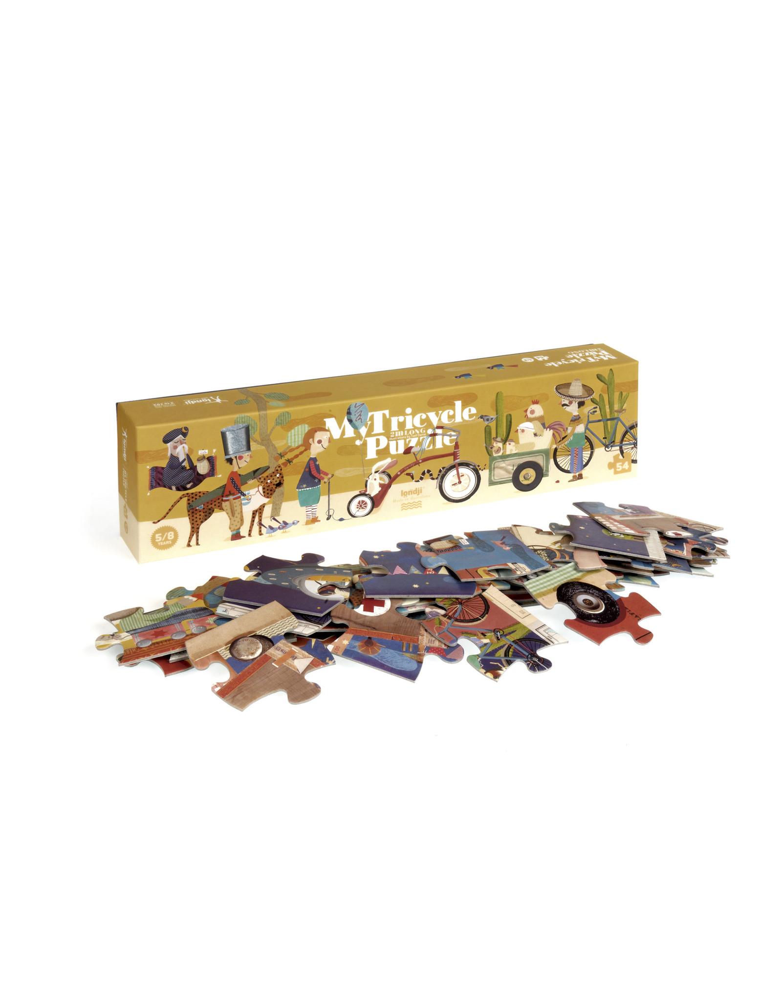 Londji Londji Puzzle - My Tricycle